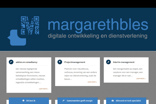 Website screenshot Mbles.nl v2.