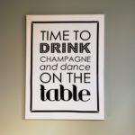 Na een portfolio update is het tijd om te dansen