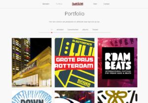 Screenshot Connect the Dots portfolio
