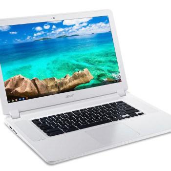 Foto van de Acer Chromebook.