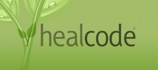 Logo Healcode.