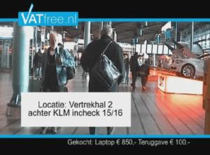 Video screenshot VATfree.nl info.