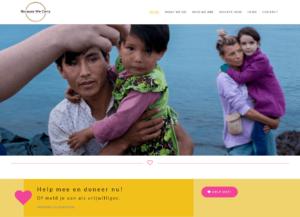 Website screenshot van Because We Carry.
