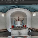 Screenshot van een afbeelding uitsnijden in Pixlr