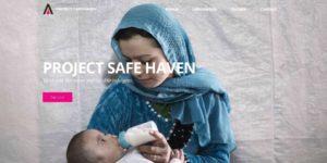 Screenshot Project Safe Haven - Home