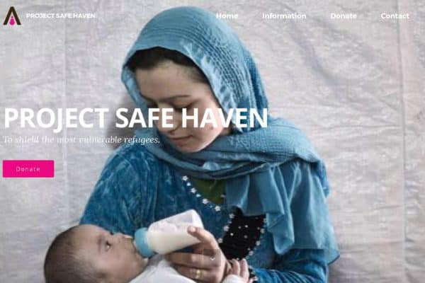 Screenshot Project Safe Haven - Home