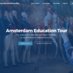 Screenshot Amsterdam Education Tour - start
