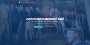 Screenshot Amsterdam Education Tour - start