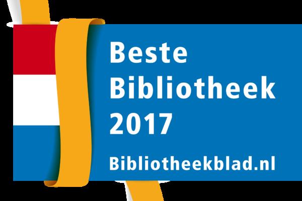 Logo Beste bibliotheek van Nederland 2017