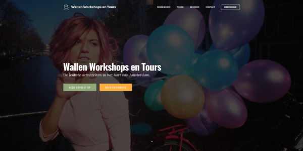 Wallen Workshops en Tours