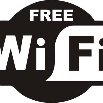 Logo Free WiFi - Behorende bij het artikel Gratis WiFi en privacy