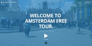 Screenshot Amsterdam Free Tour - Start
