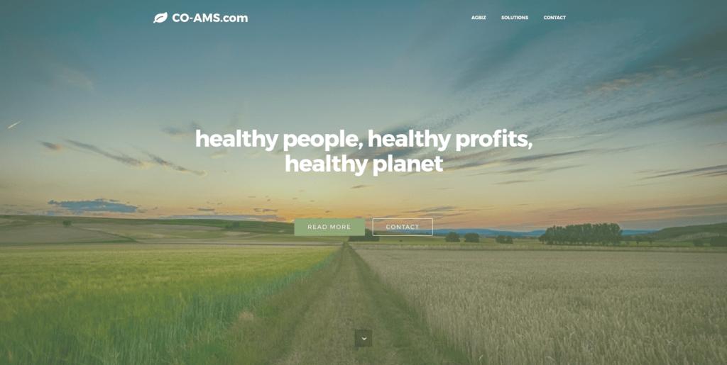 Screenshot Co-AMS COM