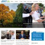 Screenshot Jonet.nl - startpagina