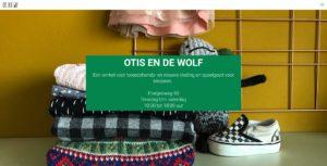 Screenshot website Otis en de wolf.