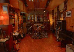Screenshot van RockTown studios in Rotterdam op Google-Maps.