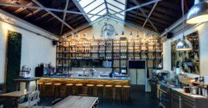 Screenshot Jefferson bar brasserie op Google-Maps.