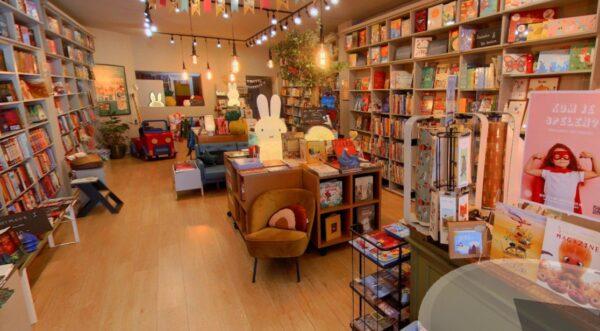Screenshot van De Kinderboekwinkel op Google-Maps.