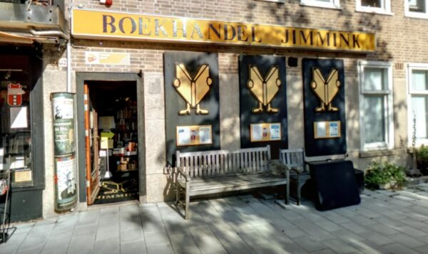 Screenshot Boekhandel Jimmink op Google Maps.