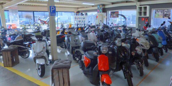 Screenshot van Scooter Plezier Breda op Google Maps.