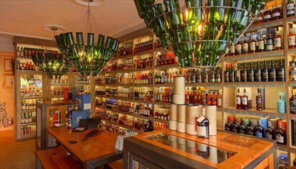 Screenshot Passie voor Whisky op Google-Maps.