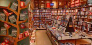 Screenshot van Hoogstins Boekhandel op Google-Maps.
