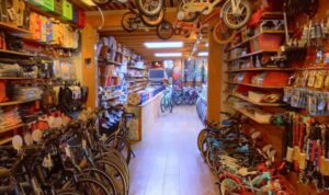 Screenshot Bikeshop 66 op Google-Maps.