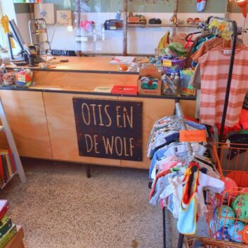 Screenshot Otis en de wolf Amsterdam op Google Maps.