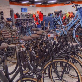 Screenshot Van Oosterhout Bikes en Sport op Google-Maps.