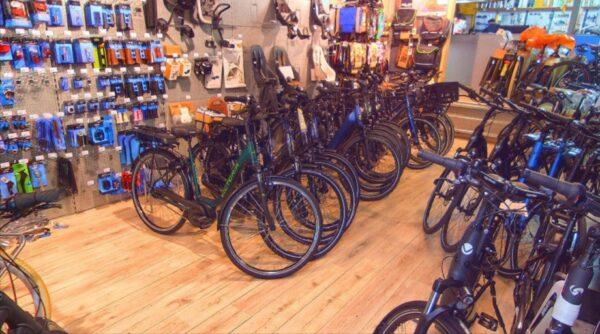 Screenshot Bikes and Boards op Google-Maps.