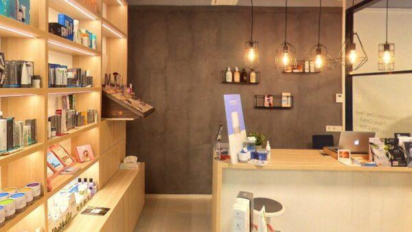 Screenshot CHRIS beauty bar Den Haag op Google-Maps.